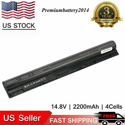 M5Y1K Battery/Charger For Dell Inspiron 3451 5451 5551 5555 5558 5559 5755 5758
