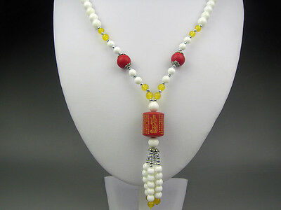 Chinese beautiful tridacna necklace Goddess of mercy Pendant