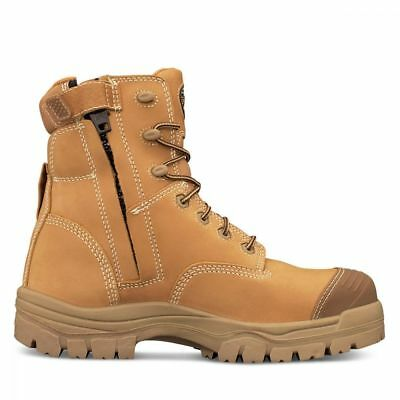 Oliver work boots 45632z AT's wheat lace zip sider Plus 3 prs safety sunnies