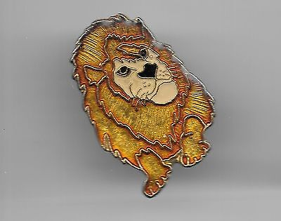 Vintage Lion of the Lion King movie old enamel pin
