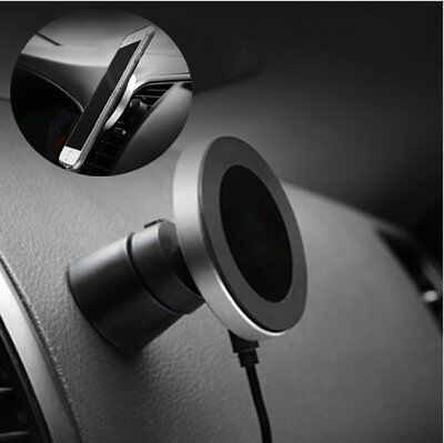 Qi Wireless Car Charger Magnetic Air Vent Mount Holder For iPhone X 10 8 8 Plus+