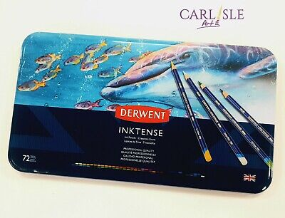 Derwent Inktense Watersoluble Pencils, 72 Set