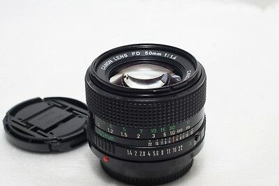 Canon FD 50mm f1.4 Lens *Excellent*