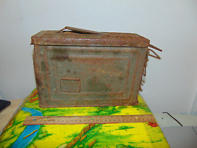 CAMCO AMMO BOX, 30 CAL.50  M1 VINTAGE Original US military MODERN US
