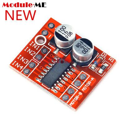 2PCS 1.5A Mini Dual Channel DC Motor Driver Module L298N PWM Speed Control