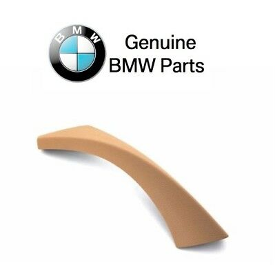 BMW E90 3-Series Passanger Right Inner Door Panel Handle Outer Trim Cover Beige