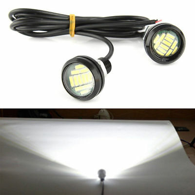 12V Eagle Eye Lamp Day Light Waterproof Modified Generic Bright Backlight