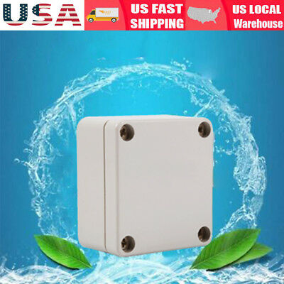 1-4pcs IP66 Waterproof Junction Boxes  Connection Outdoor Terminal Box Cover