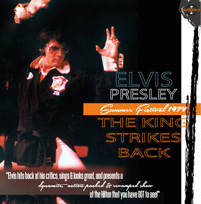 Elvis Collectors CD Box - THE KING STRIKES BACK! (10 CD Set)