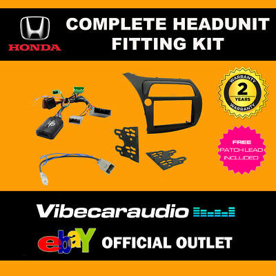 Connects2 CTKHD01L LHD Honda Civic 2006 > Double Din Radio Installation Kit