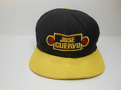 Vintage Jose Cuervo Snapback Hat Embroidered Primo Tequila OSFA Made in USA
