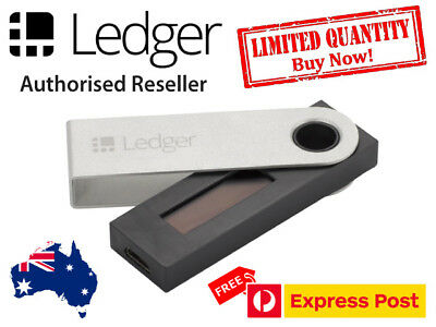 LEDGER NANO S Cryptocurrency Hardware Wallet for BTC and Altcoins IN STOCK NOW