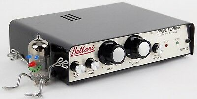 Bellari MP110 Direct Drive Tube Mic Preamp Made in USA +Top Zustand + Garantie