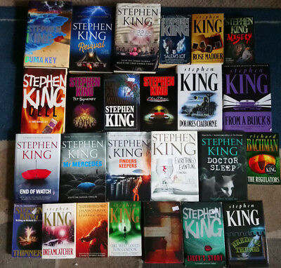 Joblot of Stephen King books!!! Collection only, 25 Books, the shining misery