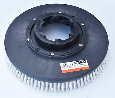 "Genuine Wetrok Nylon Floor Scrub Brush 17"" Floor Single Disc Machines 15-530.ns"