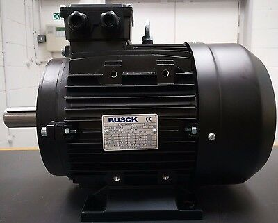 NEW BUSCK 5.5 KW, 3 PHASE, IE2, 400V, 50HZ, B3, 2 Pole,ME132SA-2 ELECTRIC MOTOR