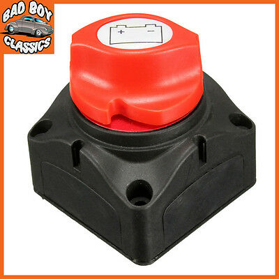 Marine Boat Battery Isolator Cut Off Kill Switch Removable Key Universal