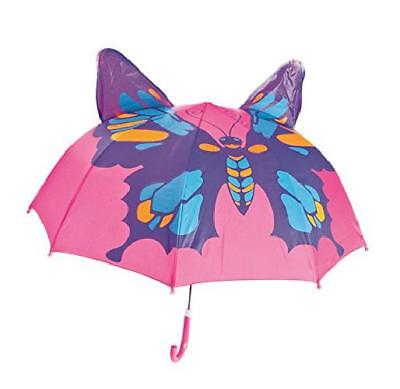 Butterfly Kids Umbrella Childrens 18 Inch Rainy Day Kids Cute New Gift Winter