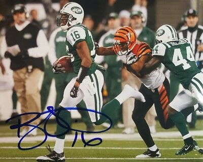 d7f8dfadd8a BRAD SMITH NEW York Jets Signed 8x10 Autographed Photo w COA ...
