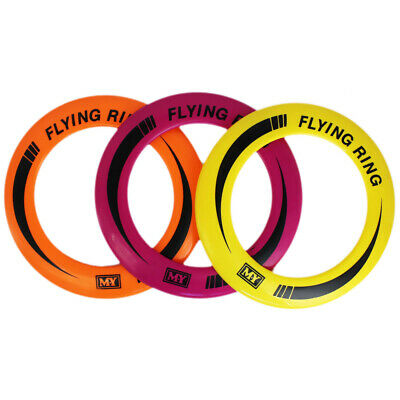 """10"""" Flying Ring Neon Colour Flying Rings Summer Outside Disc Play - Assorted"""