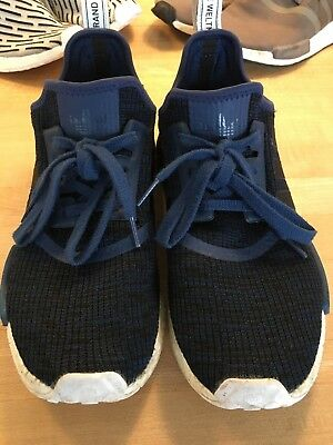 2017 ADIDAS NMD R1 Runner Mystery Blue Black White BY2775