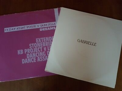 "Gabrielle 2 x Vinyl 12"" Double Packs. Dreams / Don't Need The Sun To Shine promo"
