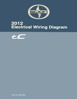 2012 scion tc wiring diagrams schematics layout factory oem