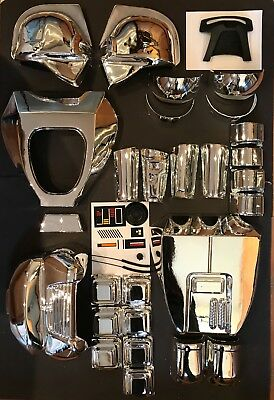 Cylon Costume SILVER Battlestar Galactica ABS vacuum metalized A grade