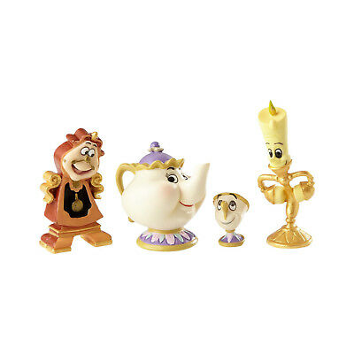 Disney Showcase Couture de Force - Enchanted Objects - Set of 4 4060076