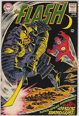 """Flash #180 Dc Comics Fn+ """"the Fastest Sword In The East"""" Andru/esposito Art!!"""