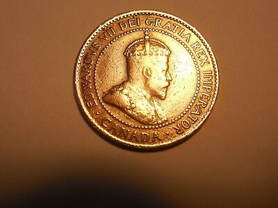 1903 Canadian LargePenny/Cent in about fine condition. But you decide!!!!!!
