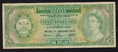 Belize ----- 1  Dollar  1976 ----- Vg------