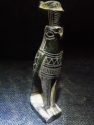 ANCIENT EGYPTIAN ANTIQUE Horus Falcon Lord of the Two Lands Sculpture 664–525 BC