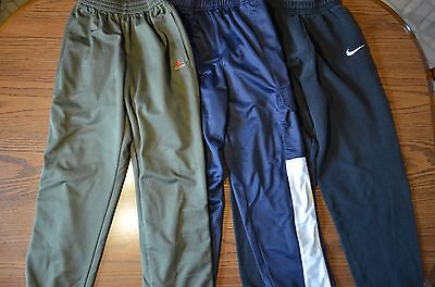 Lot of 3 Boy's Sweats Size Medium & Large Nike, Sport Trax, Adidas *Pre-Owned*