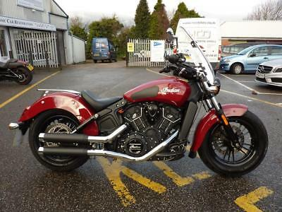 Indian Scout Sixty 15/65reg Red 13833miles MINT