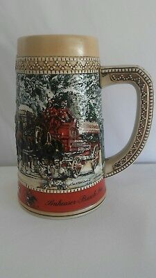 Vintage Anheuser-Busch Budweiser King Of Beers Stein Collector's 1987 Limited