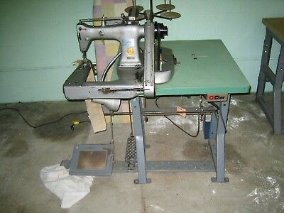 sewing machine, chainstitch, two Needle
