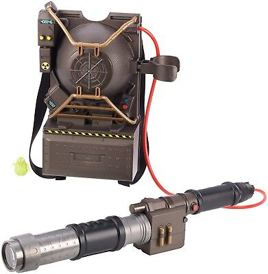 GHOSTBUSTERS Electronic Proton Pack Projector Ghost Hunting Gear Backpack NEW