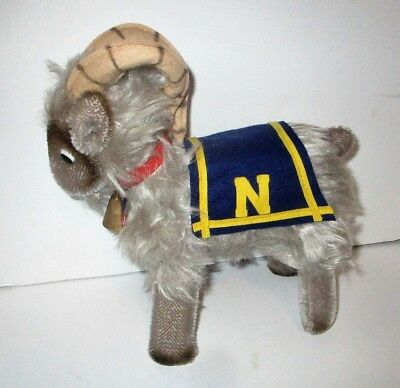 Vintage Clemens Mohair US Navy Football Goat Naval Academy Mascot West Germany