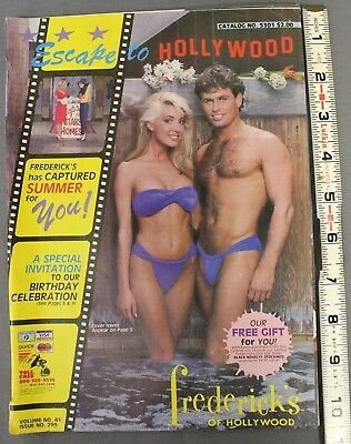 Frederick's of Hollywood Vintage catalog 1985 Volume. No.41 Issue No. 299