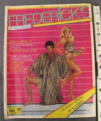 Frederick's of Hollywood Vintage catalog 1981 Volume. No.35 Issue No. 259