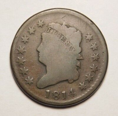 1814 Classic Head Large Cent Holiday Bargain Check Pics!!