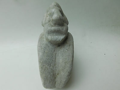 Antique Hand Carved Stone Figure Pre Columbian?