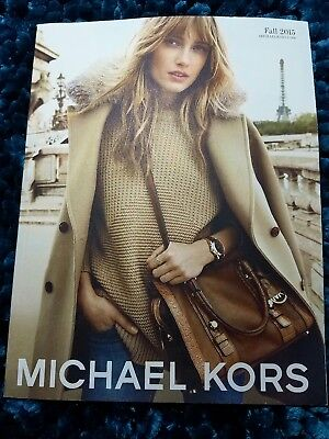 Michael Kors Catalog Fashion Lookbook Fall 2015 Collection