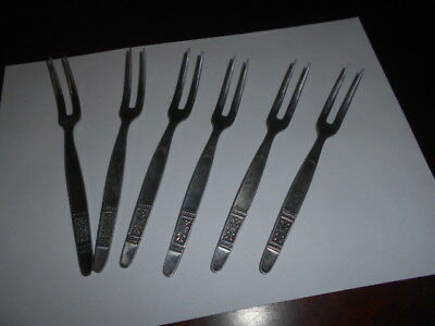 6 Stainless Steel Tiny Forks Japan