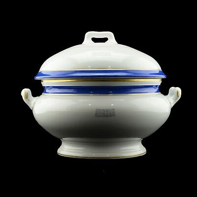 Antique Russian Imperial yacht Tsarevna soup tureen
