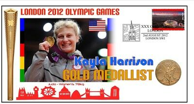 Kyla Harrison 2012 Olympic Usa Judo Gold Medal Cover