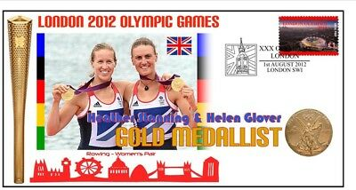 Heather Stanning Helen Glover Olympic Rowing Gold Cv 2