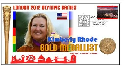 Kimberly Rhode 2012 Usa Olympic Shooting Gold Cover