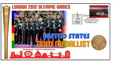 Usa 2012 Olympic Womens Basketball Gold Medal Cover